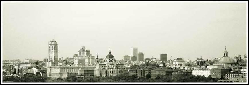 Madrid desde la Casa de Campo
