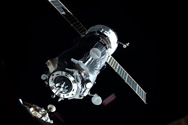 Russian New Docking Test in Outer Space
