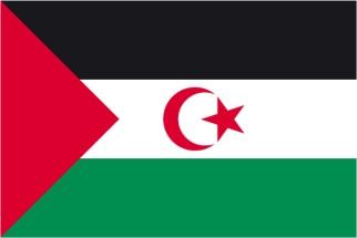 bandera enfadado blanco y colorado horizontal